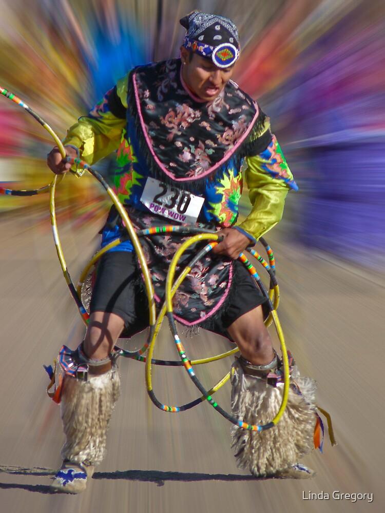 Hoop Dancer by Linda Gregory