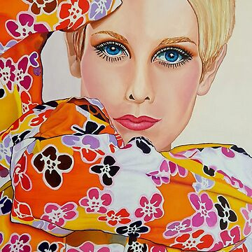 Twiggy - Swinging Sixties by ArtbyCPolidano