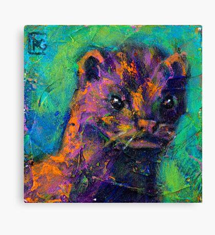 Earth Keeper: Mink Canvas Print