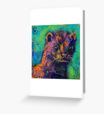 Earth Keeper: Mink Greeting Card