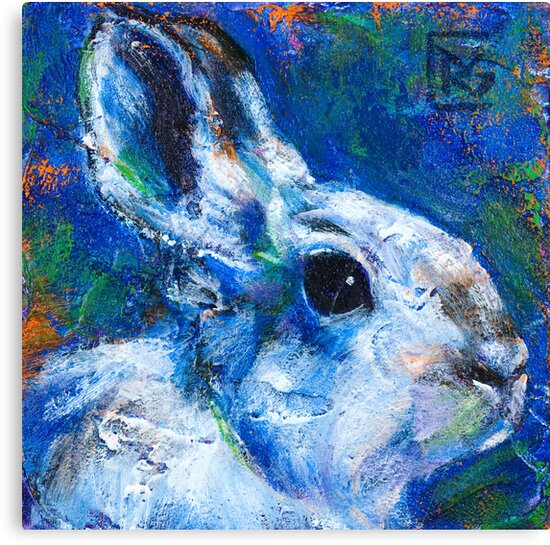 Earth Keeper: Snowshoe Hare by Rosemary Conroy