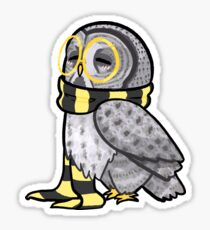 Kind Great Grey Owl Sticker