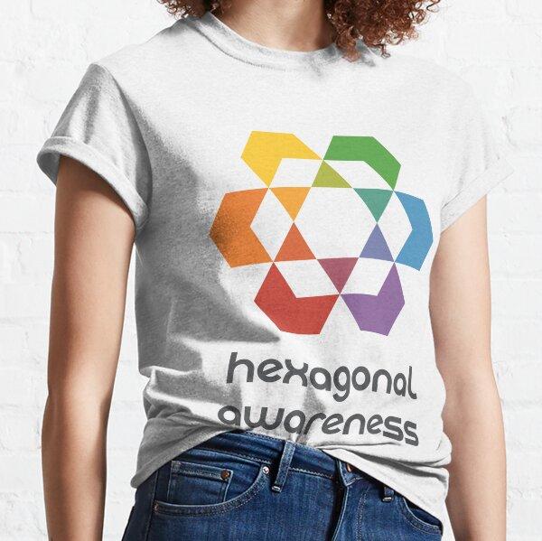 Hexagonal Awareness Classic T-Shirt