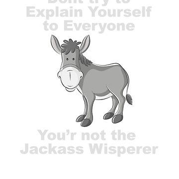 Not A Jackass Whisperer  by PPricklepants