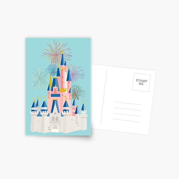 Fairytale Castle Postcard