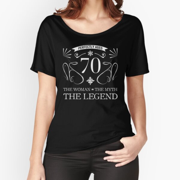 70th Birthday For Women Relaxed Fit T-Shirt