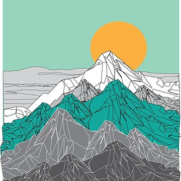 Polygon Mountains by savesarah