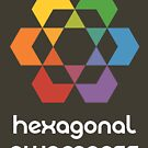 Hexagonal Awareness (dark background) by hexagrahamaton