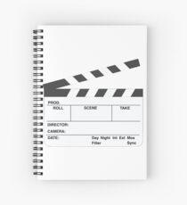 Clapperboard (b&w) Spiral Notebook
