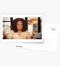 oprah bread meme Postcards
