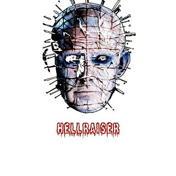 Pinhead Hellraiser Horror Lover Halloween gift t shirt by Johannesart