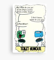 Toilet Humour Metal Print