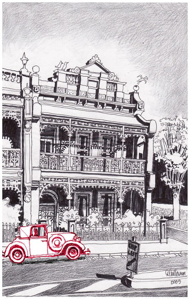 1880's Victorian Lacework Terrace by DamianCallanan