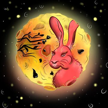 Rabbit In the Moon by Katastra
