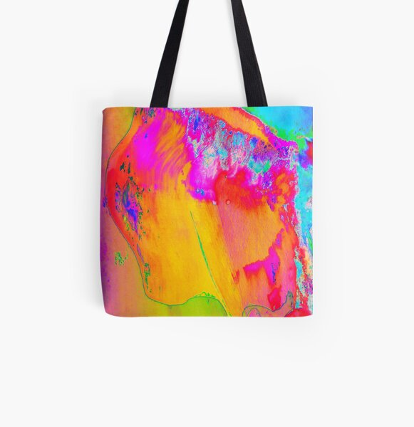 Island Queen All Over Print Tote Bag