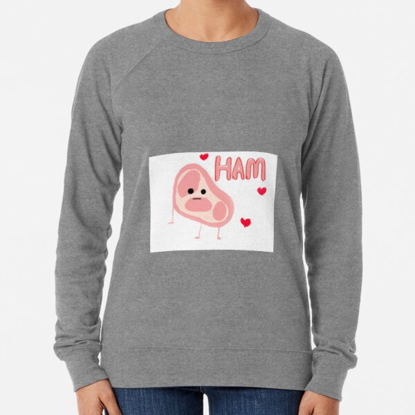 Happy Ham Lightweight Sweatshirt
