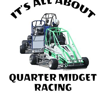 Quarter Midget Racing Track Youth & Kids Cars by GabiBlaze