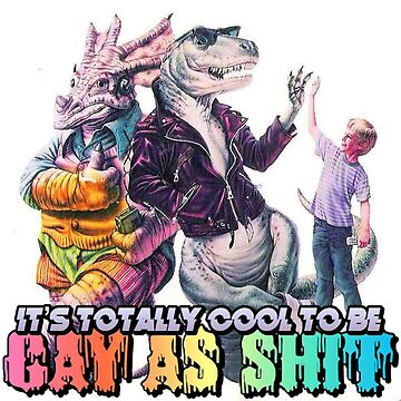 Cool Gay Dinosaurs by scaabs