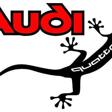 All Paw Gecko Black by Frazza001