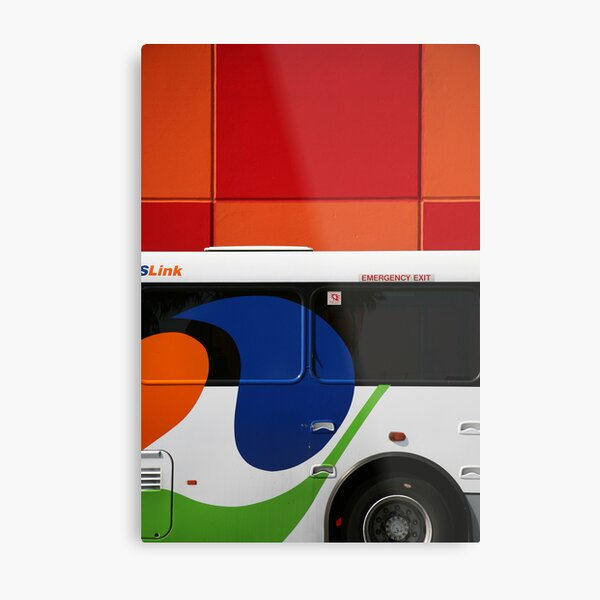 The Bus Metal Print