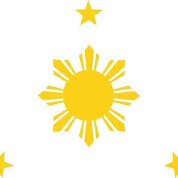 Philippines Sun & Stars by AiReal Apparel by airealapparel