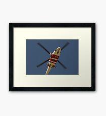 RAAF Rescue Helicopter Framed Print