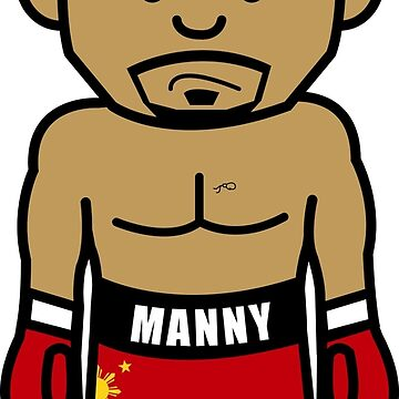 Angry Manny Pacquiao Cartoon by AiReal Apparel by airealapparel