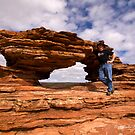 Nature's Window, Kalbarri, WA by Malcolm Katon