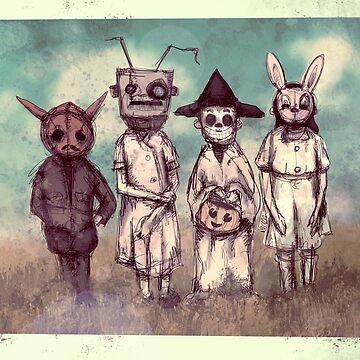 Vintage Halloween by LVBART
