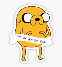 Adventure Time Jake the Dog Sticker