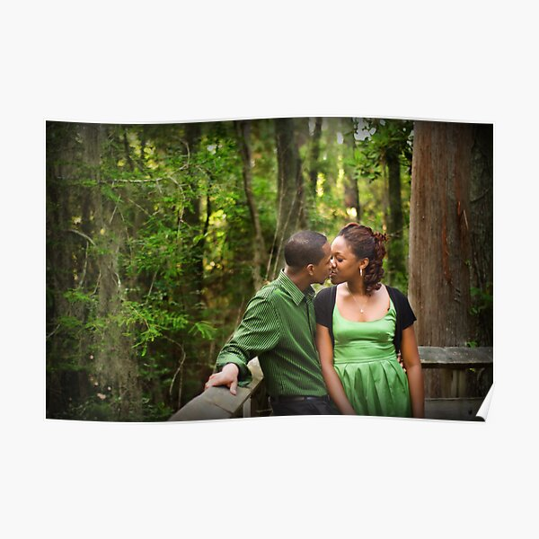 Kiss in the Woods Poster