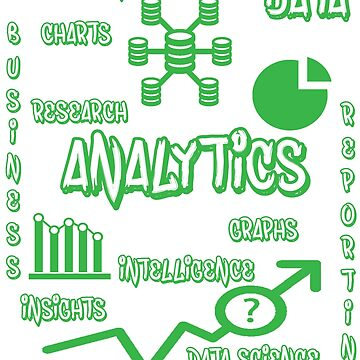 Data Analytics Awesome T-shirt by tshirtfandom