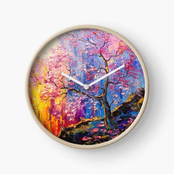 Sakura bloom Clock