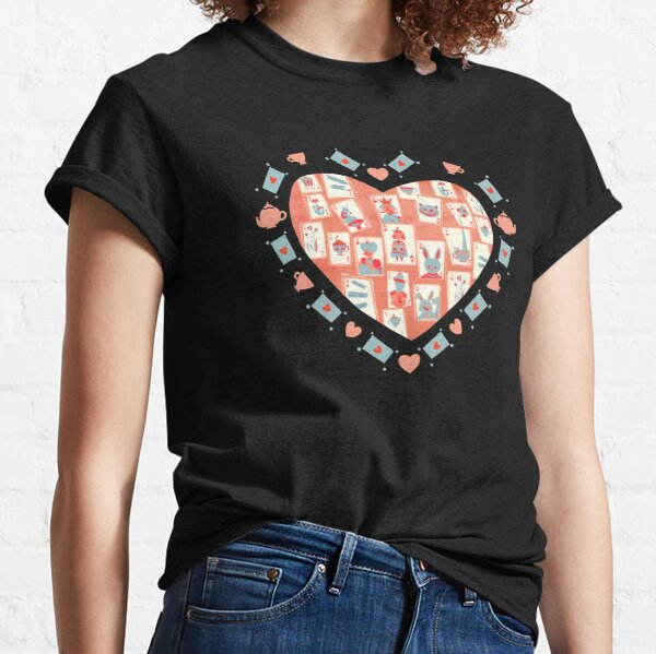 Tea Party, Alice in Wonderland Classic T-Shirt