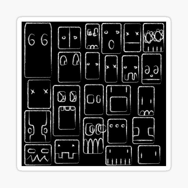 Shinoda Ghosts Sticker