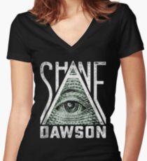 Shane Dawson All-Seeing Eye T-Shirt Women's Fitted V-Neck T-Shirt