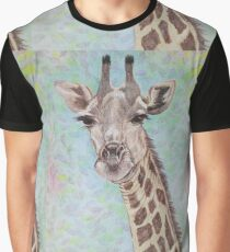 African Giraffe Graphic T-Shirt
