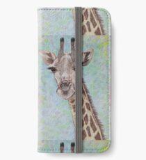 African Giraffe iPhone Wallet/Case/Skin