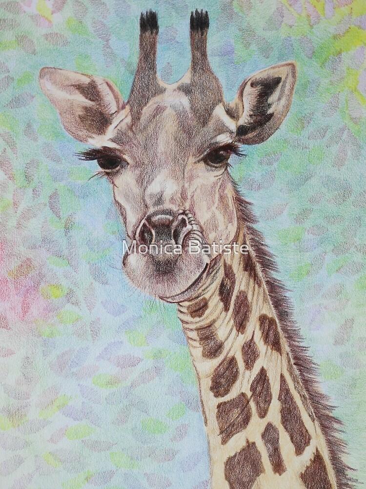 African Giraffe by Monica Batiste