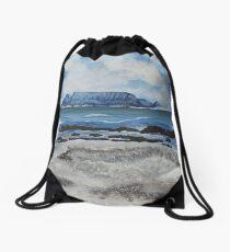 Table Mountain Drawstring Bag