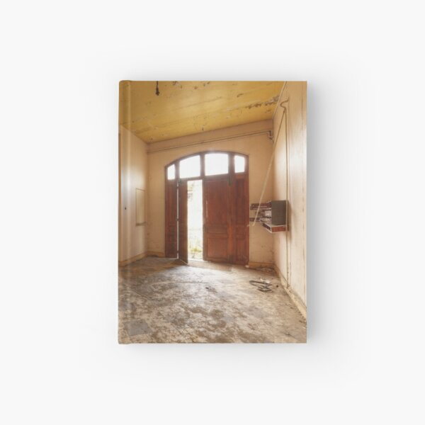 The stairs Hardcover Journal