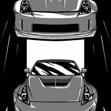 Nissan 350z + 370z by w1gger