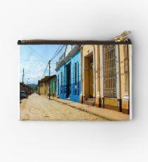 Streets of Trinidad Cuba Studio Pouch