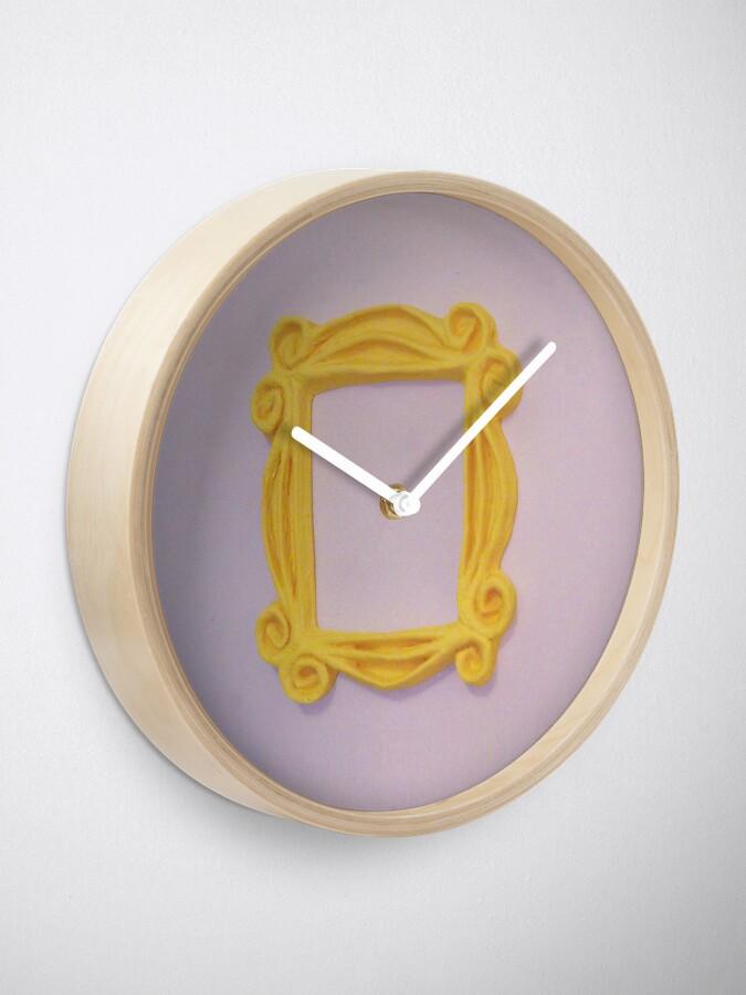 Alternative Ansicht von Rahmentür Uhr