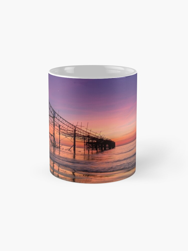 Alternate view of  Totland Pier Caught In The Afterglow Mugs