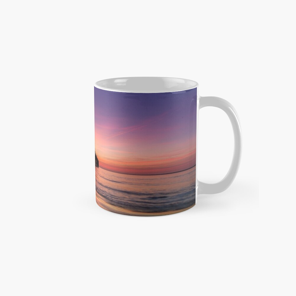 Totland Pier Caught In The Afterglow Mugs