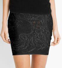 Weirwood tree  Mini Skirt
