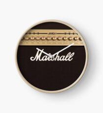 Marshall Guitar Double Amplifier Clock