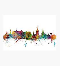 Edinburgh Schottland Skyline Fotodruck