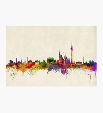 Berliner Skyline Deutschland Fotodruck